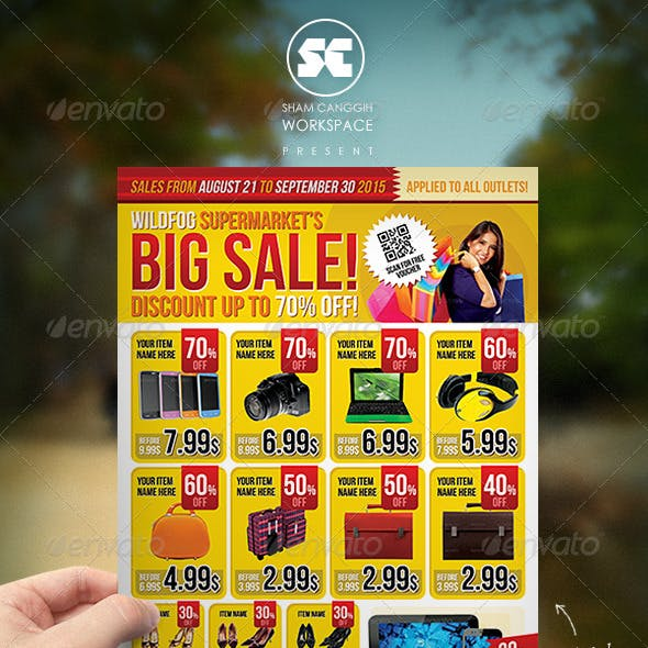 Big Sale Promotion Flyer