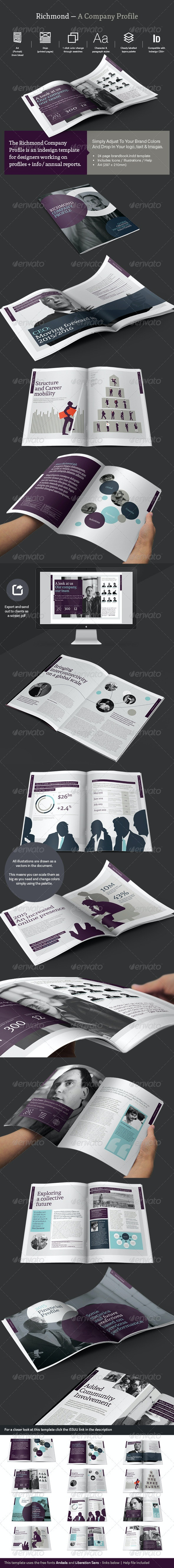 Company Profile / Review - Informational Brochures