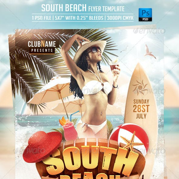 South Beach Flyer Template