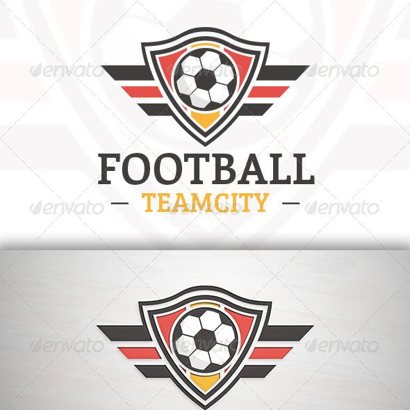 Football Team Logo Template