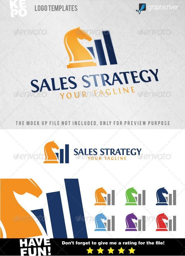 Sales Strategy Logo Templates - Abstract Logo Templates