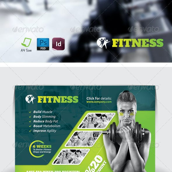 Fitness Salon Flyer Templates