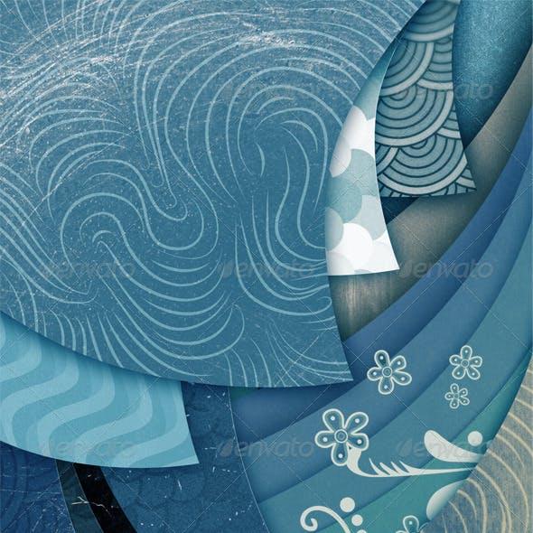 Abstract Art Grunge Background Vol2