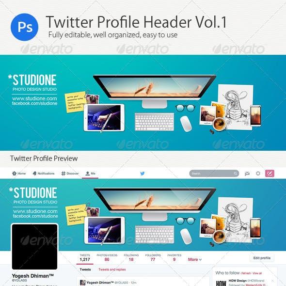 Twitter Profile Header V1