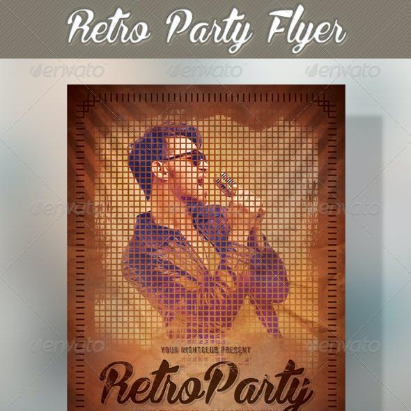 Retro Party Flyer 03