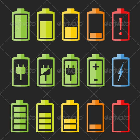 Battery Icons