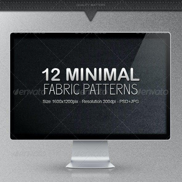 12 Minimal Fabric Patterns