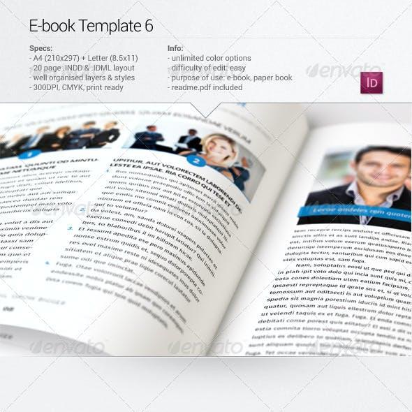 E-book Template 6
