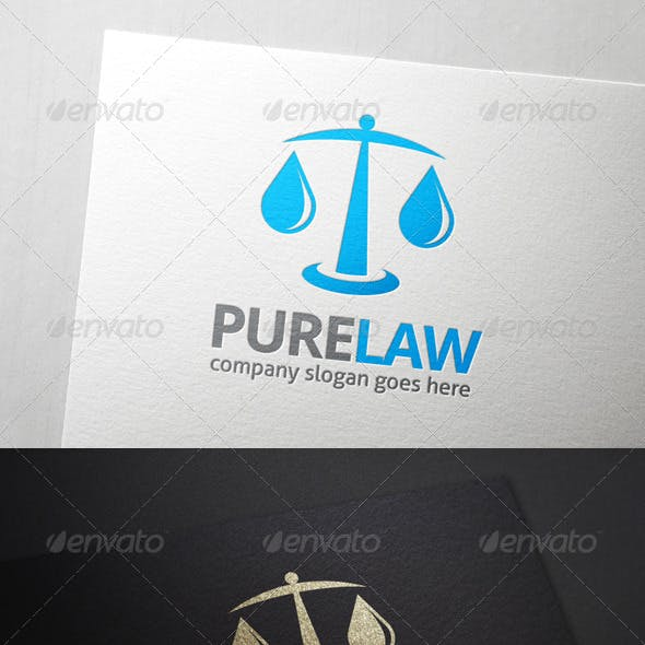 Pure Law Logo