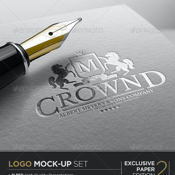 Logo Mock-Up / Exclusive Paper Edition 2