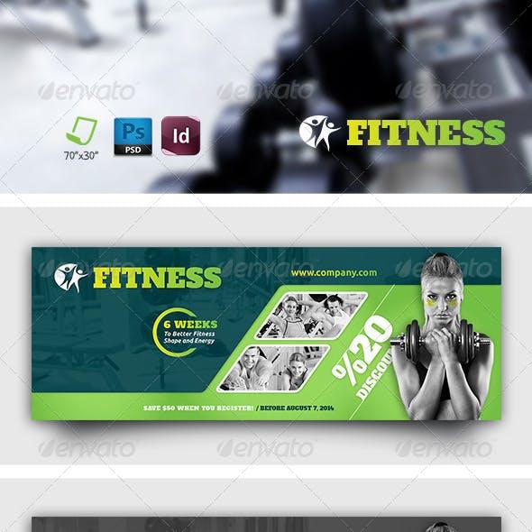 Fitness Salon Timeline Templates