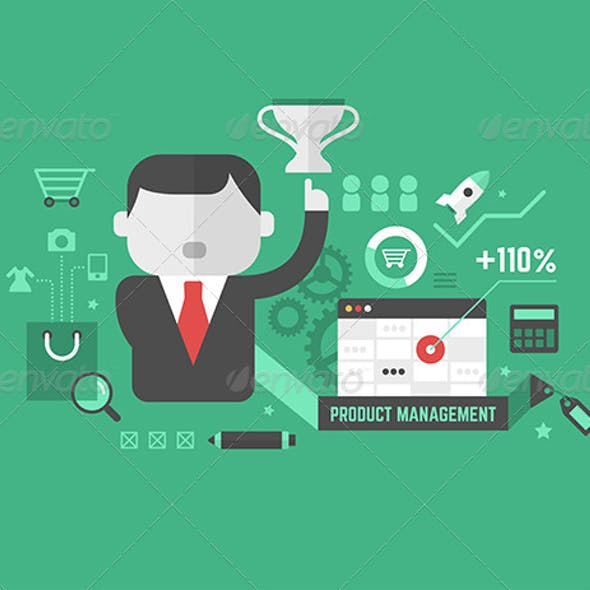 Product Promotion. Digital Marketing Concept