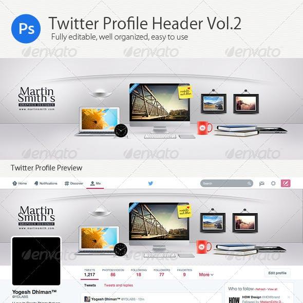 Twitter Profile Header V2