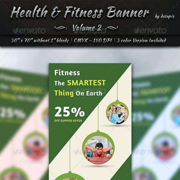 Health & Fitness Banner Template | Volume 2