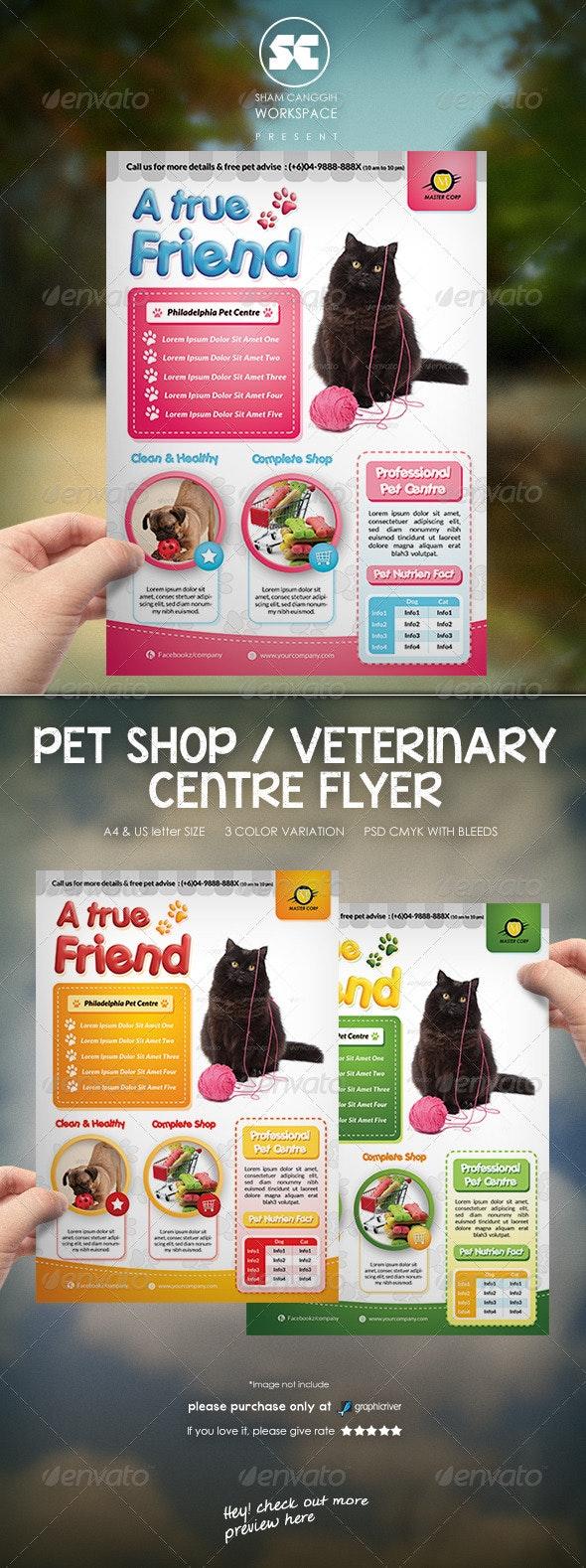 Pet Shop / Veterinary Centre Flyer  - Miscellaneous Events