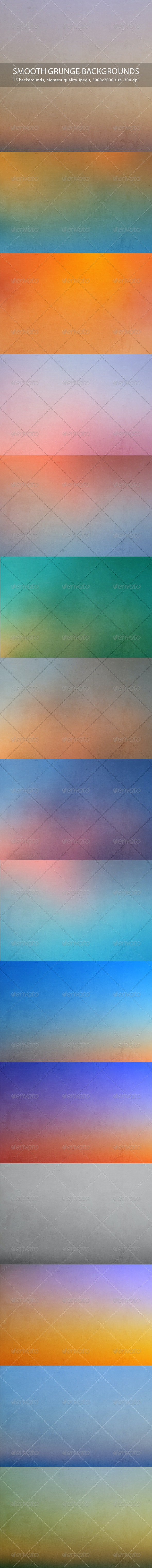 Smooth Grunge Backgrounds - Abstract Backgrounds