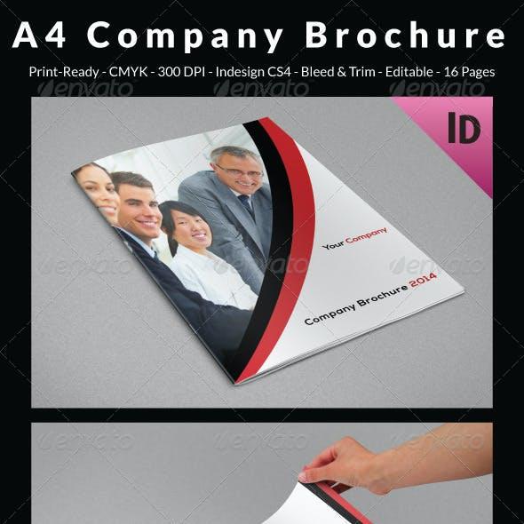 A4 Company Brochure