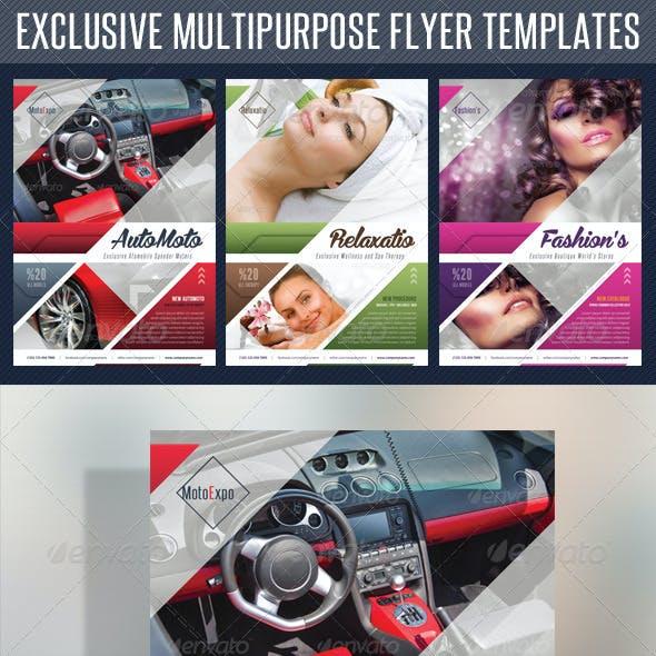 Multipurpose Product Flyer V01
