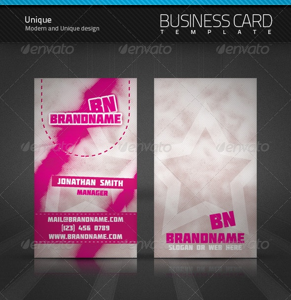 Unique Business Card - Creative Business Cards
