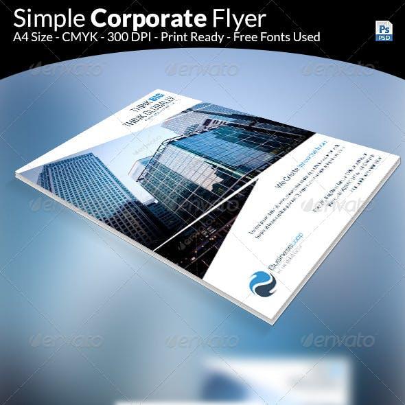 Simple Multipurpose Flyer