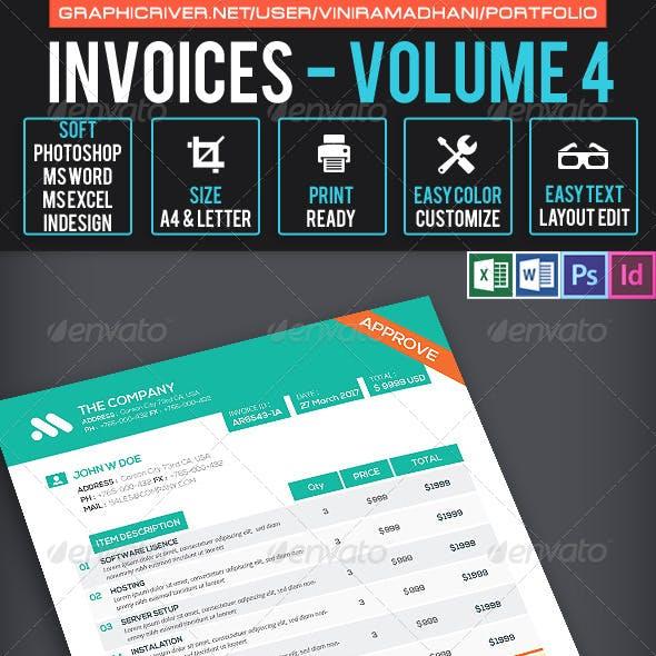 Invoices Volume 4