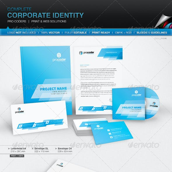 Corporate Identity - Pro Coders