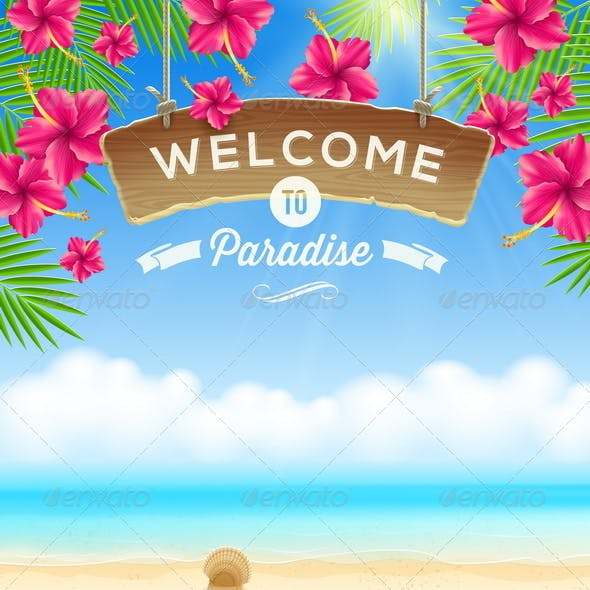 Summer Holidays Vacation Design