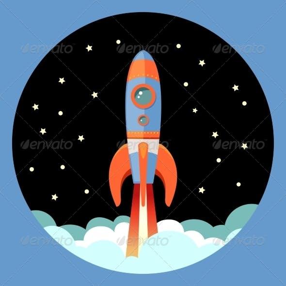 Rocket Start Emblem