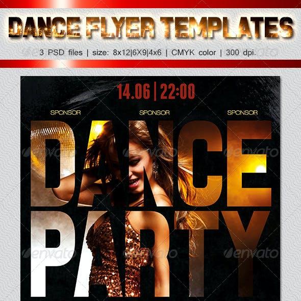 Dance Party Flyer 5