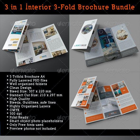3 in 1 Interior 3-Fold Brochure Bundle 01