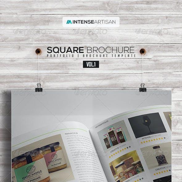 Square Brochure - Portfolio Vol.1