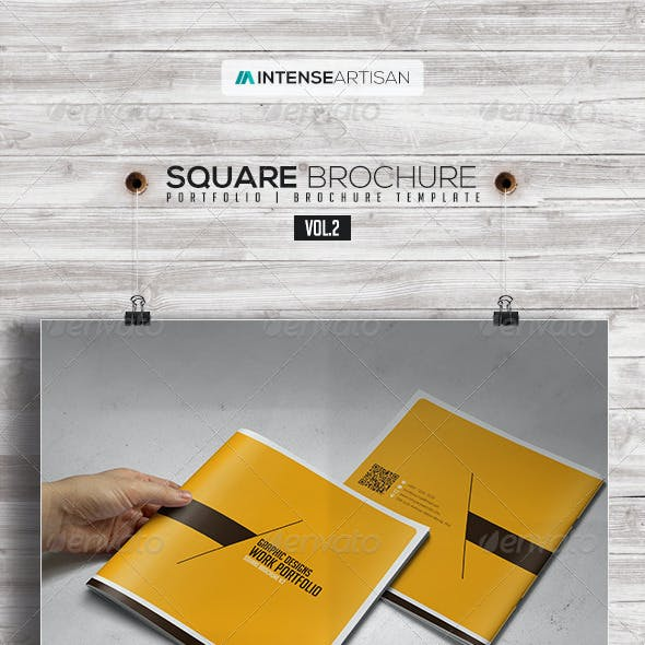 Square Brochure - Portfolio Vol.2