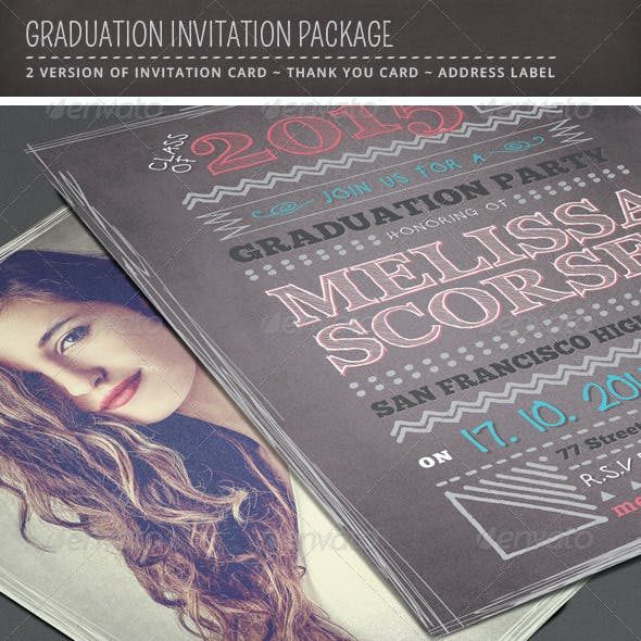 Graduation Invitation Package