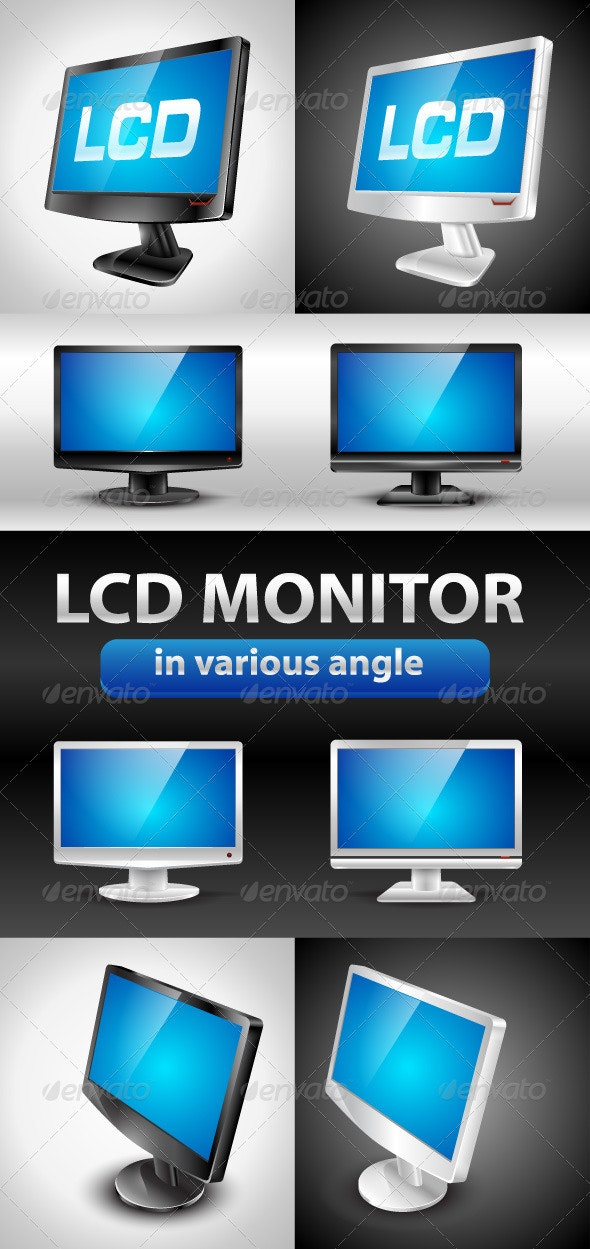 Various Angle LCD monitor - Computers Technology