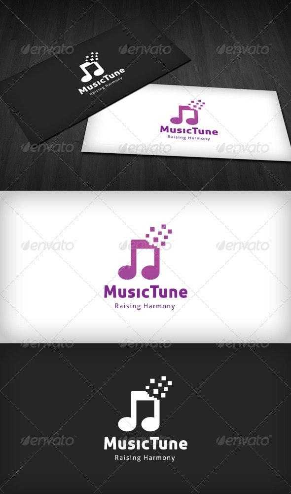 Music Tune Logo - Symbols Logo Templates
