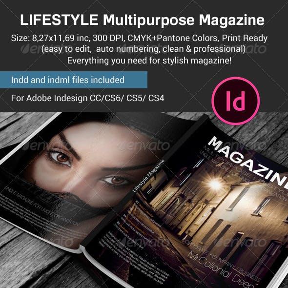 Lifestyle & Multipurpose Magazine Template