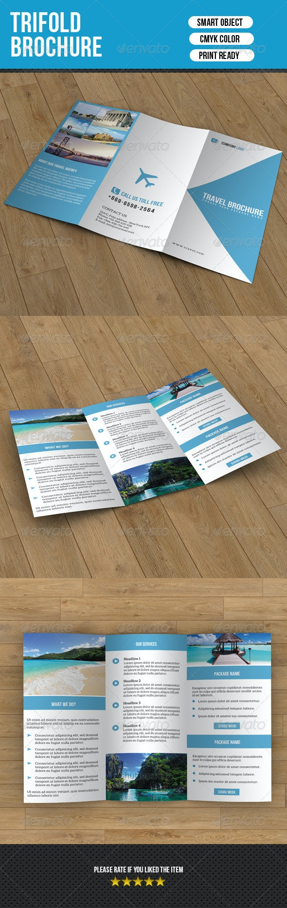 Trifold Brochure-Travel - Corporate Brochures