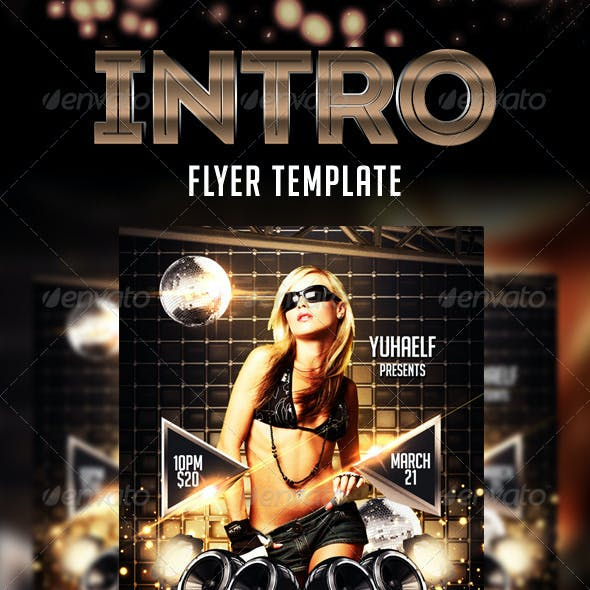 Intro Flyer Template