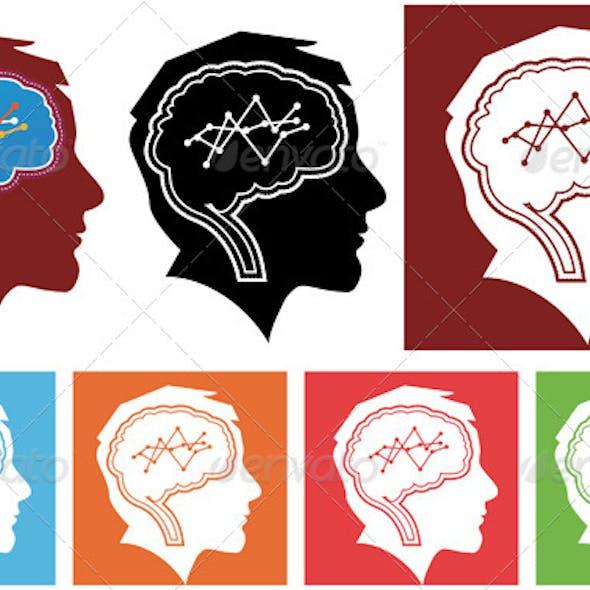 Business Genius Head