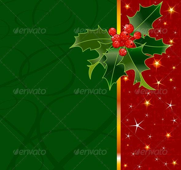 Christmas background - Seasons/Holidays Conceptual