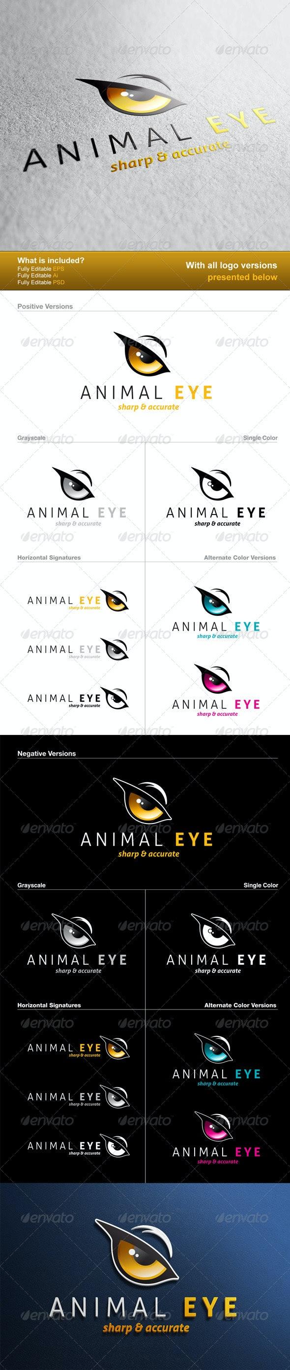 Animal Eye Logo - Animals Logo Templates