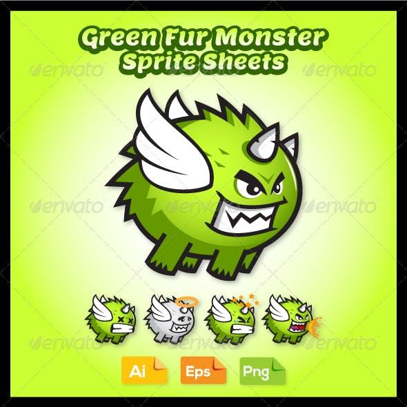 Villain Game Character - Monster Sprite Sheets