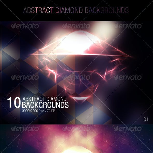 Abstract Diamond Backgrounds