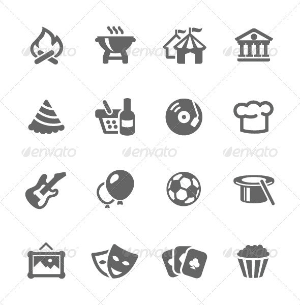 Event Icons - Miscellaneous Icons