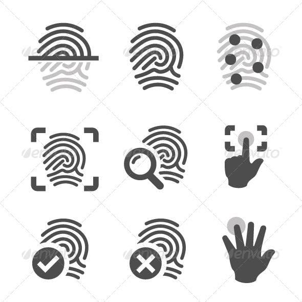 Fingerprint Icons