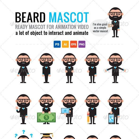 Beard Mascot