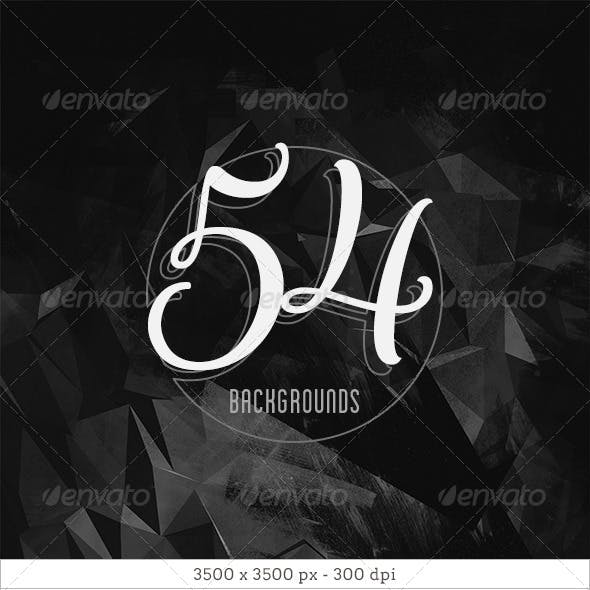 54 Dark Abstract Backgrounds