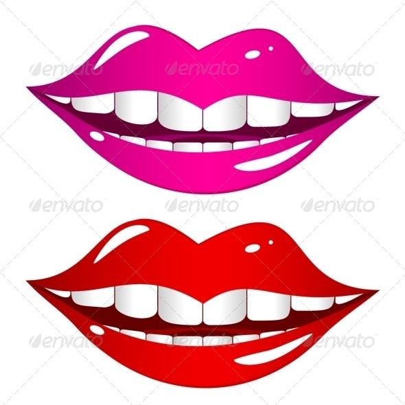 Mouth Laughs Set