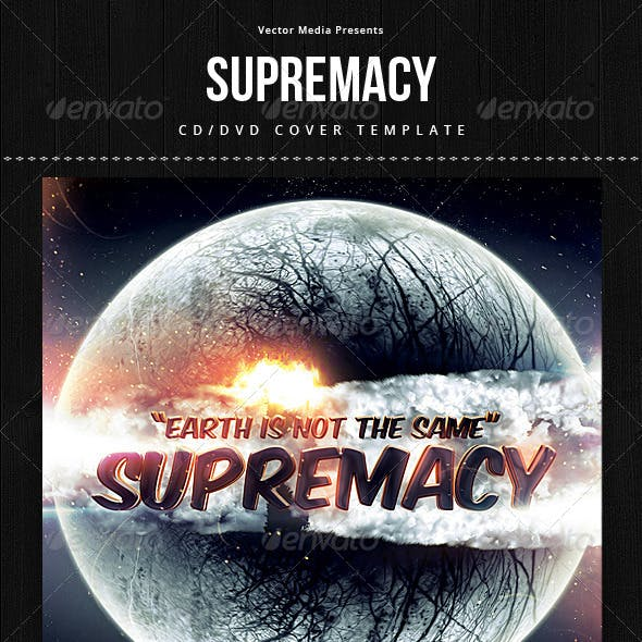 Supremacy - CD Cover