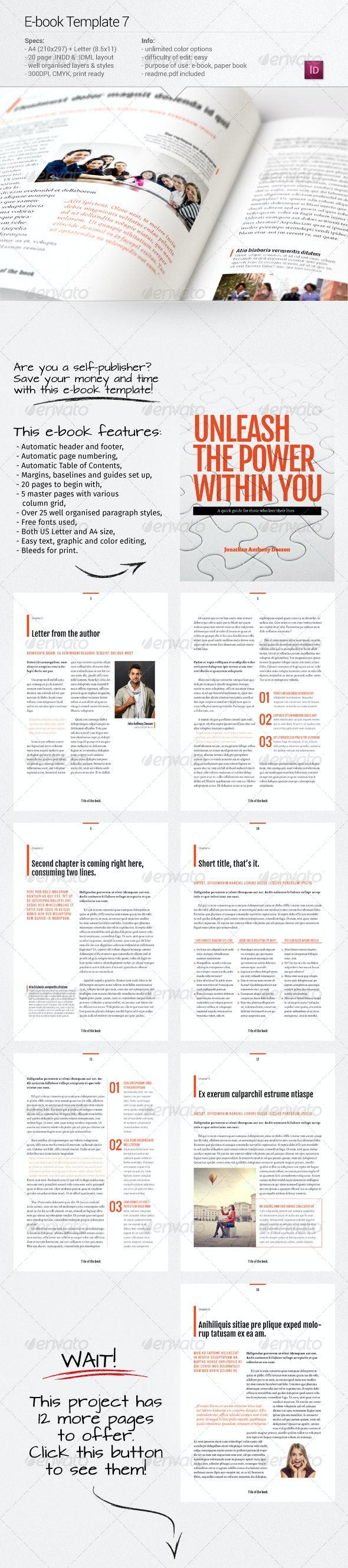 E-book Template 7